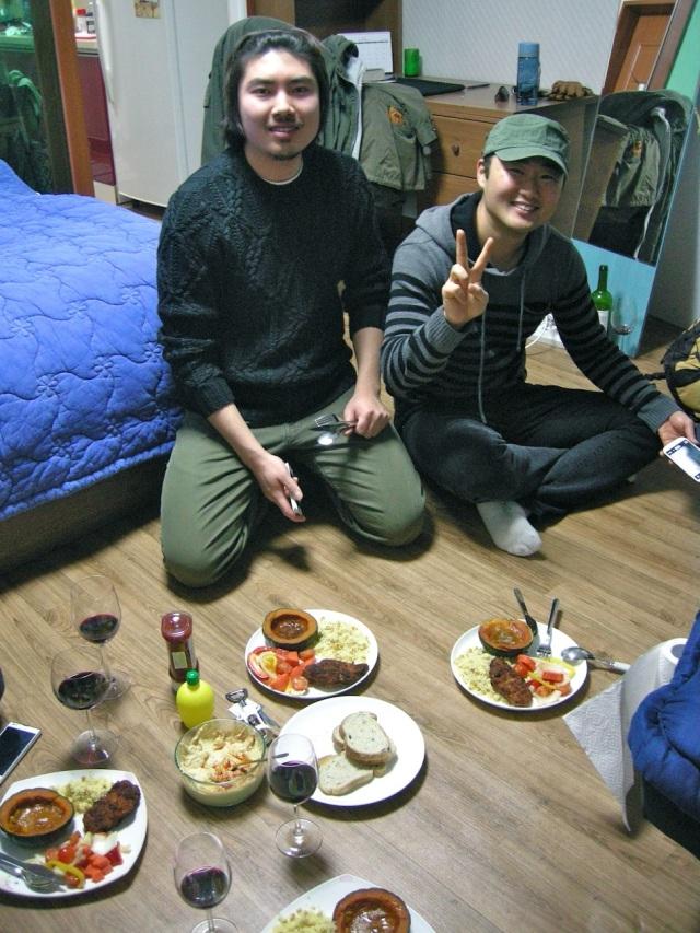 John & Jin Woo (my co-teacher)