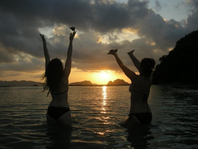 Las Cabanas Beach, Palawan Island - Philippines